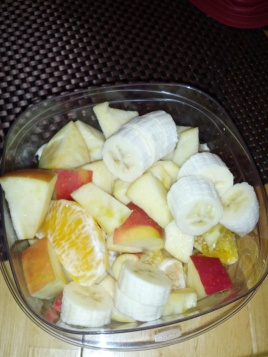 Fruit salads are a great snack