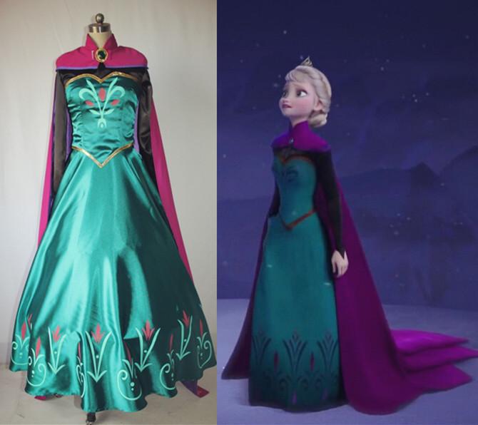 Elsa-costume