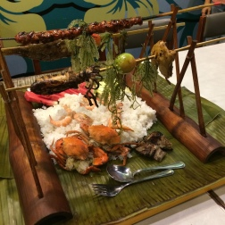 Kamayan - eat it with your hands!