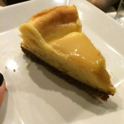 Durian cheesecake - zomg