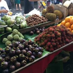 The Sunday Market in Manila, Philippines - Exotic fruits galore!