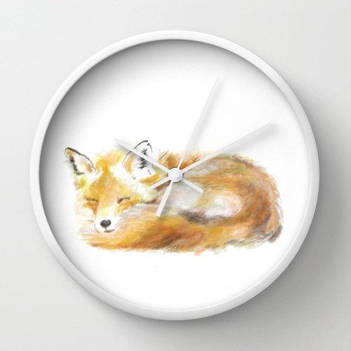 fox-clock