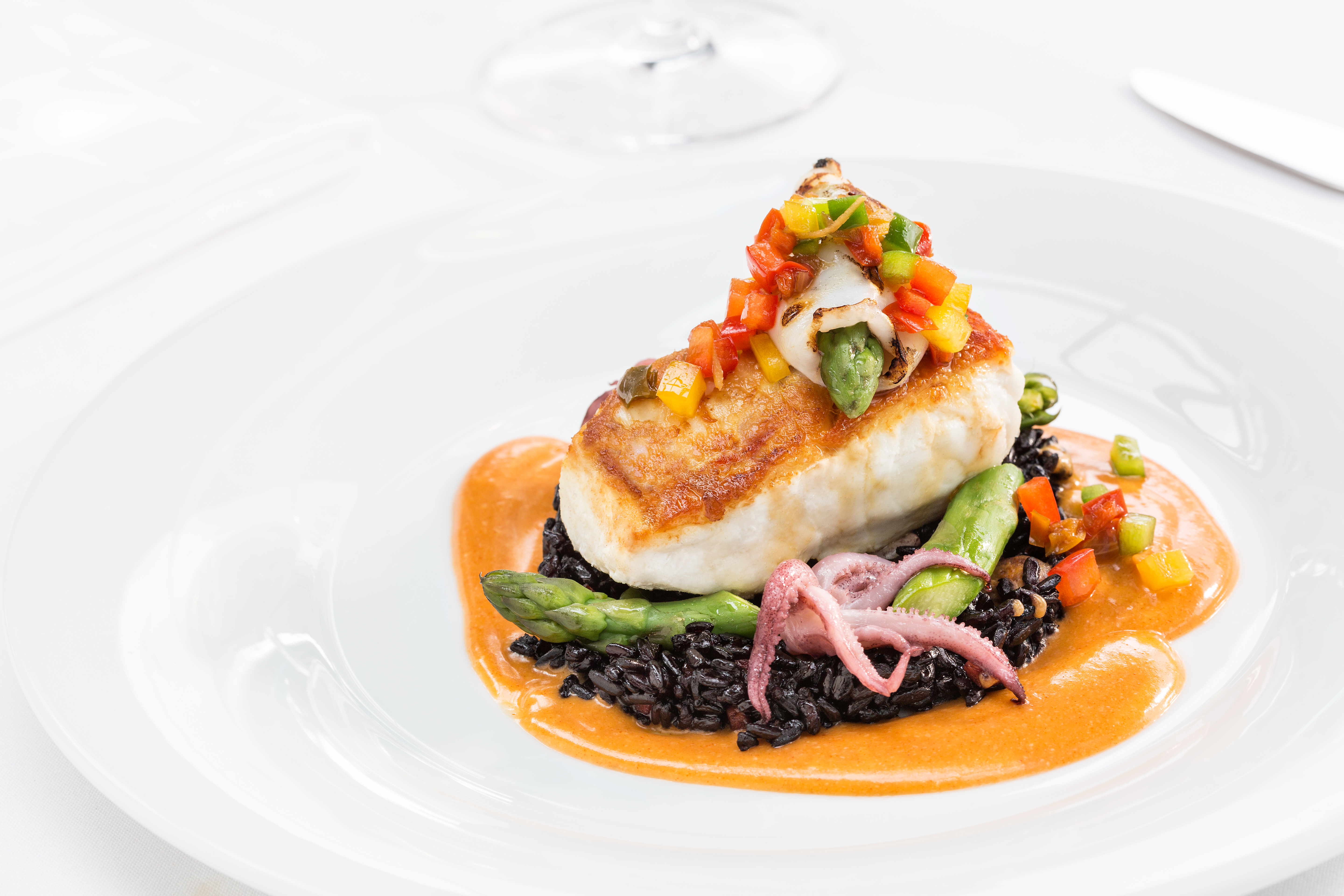 Japanese and Peruvian cuisine come together in Vancouver's ... Alaskan Halibut Dish