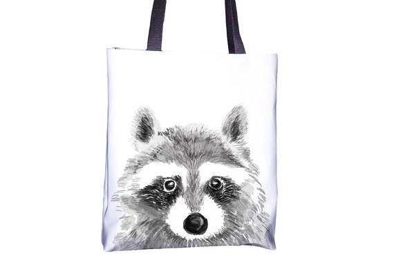 racoon-tote