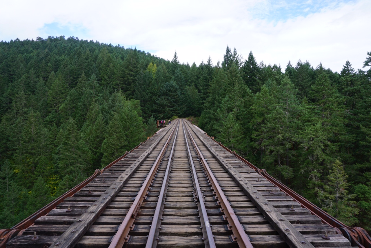 goldstream trestle in bc